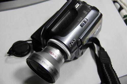 Videocamara jvc everio de 30 gb, 3 pilas de regalo y estuche