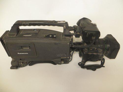 Videocamara panasonic aj-d700 p con lente fujinon at2 partes