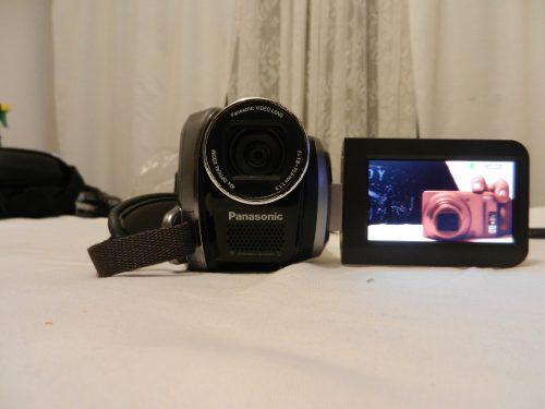 Videocamara panasonic sdr-h40p 40gb integrados y sd 42x
