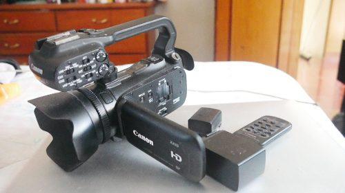 Videocamara profesional canon xa10 full hd 64 gb xlr