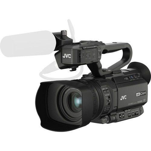 Videocámara de transmisión compacta de mano jvc gy-hm200
