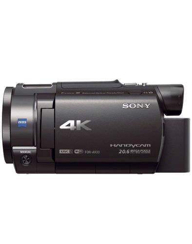 Videocámara profesional sony ax33 4k