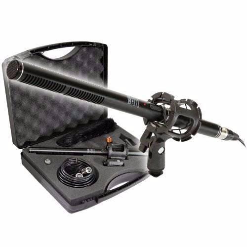 Vidpro kit de micrófono shotgun para videocámaras xm-88