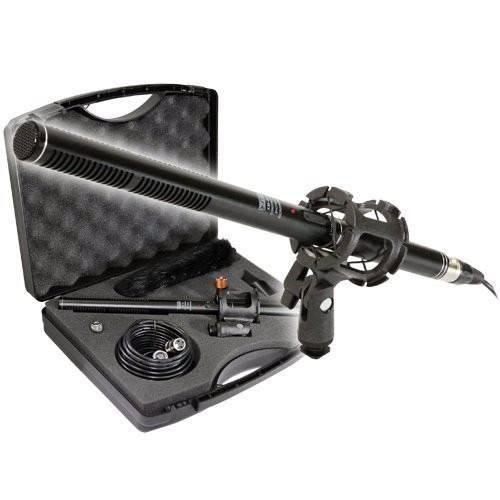 Vidpro kit de micrófono shotgun(videocámaras y dslrs)