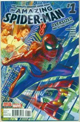Amazing spiderman 1 marvel comics ingles alex ross