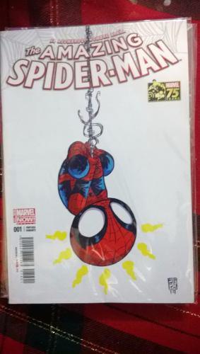 Amazing spiderman 1 variante skottie young edit. televisa