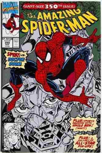 Amazing spiderman 350 (marvel 1991) numero doble.ingles.