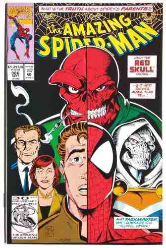 Amazing spiderman 366 (marvel 1992) david michelinie.
