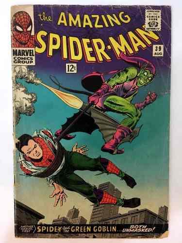Amazing spiderman #39 1st romita marvel comics 1966