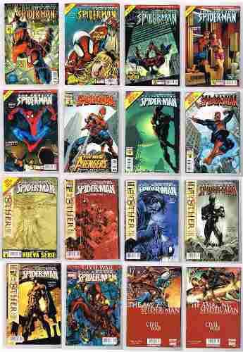 Amazing spiderman lote 75 comics - primeros comics- televisa