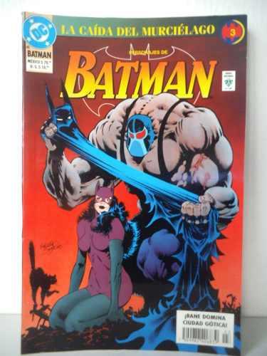 Batman la caida del murcielago tomo 3 editorial vid