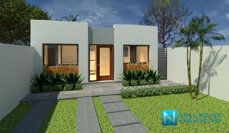 Casa minimalista de 57 m2 a la venta en cuernavaca, morelos