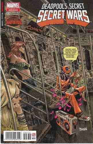 Comic deadpool´s secret wars saga completa español nuevos