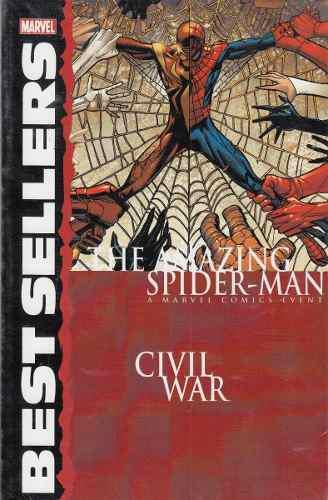 Comic marvel civil war the amazing spider-man español