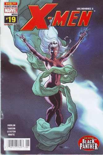 Comic x-men # 19 serie invitada black panther año 2006