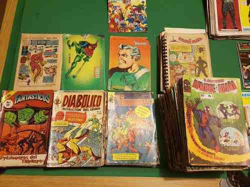 Comics el asombroso hombre araña, diabolico, años 80s