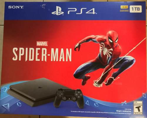 Consola sony playstation ps4 spider man