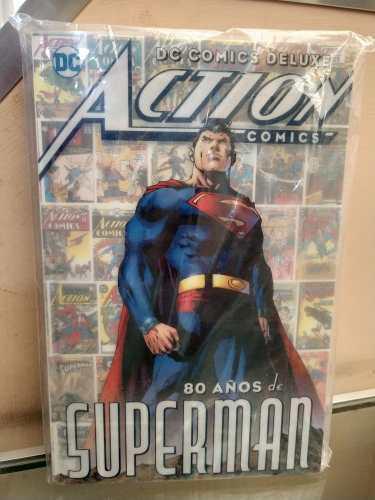 Dc comics deluxe action cómics 80 años de superman