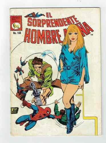 El sorprendente hombre araña #168 la prensa