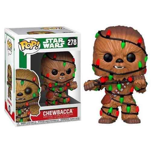 Funko pop star wars figura chewbacca navidad 2018