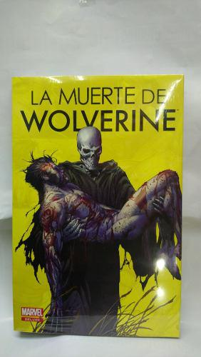 Marvel comics la muerte de wolverine deluxe