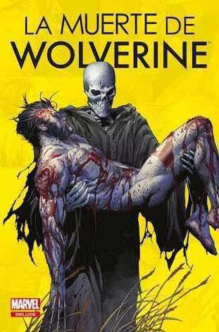 Marvel comics, la muerte de wolverine, deluxe, español
