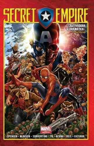 Marvel comics, secret empire deluxe español