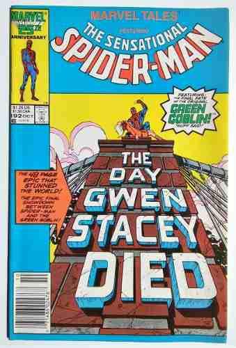 Marvel tales 192 reimprime amazing spiderman 121 y 122.
