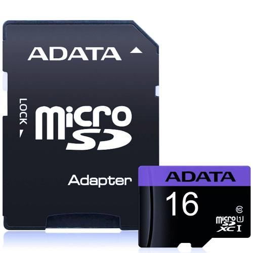 Memoria Micro Sdxc 16gb Adata Clase 10 Ausdh16guicl10-ra1