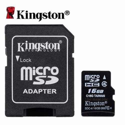 Micro sd kingston 16gb sdc4/16gb