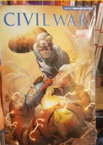 Monster edition civil war publicación especial