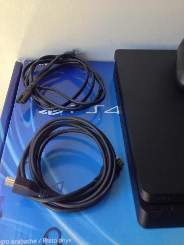 Playstation 4 ps4 slim sony consola control cables y juegos