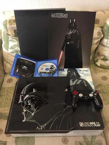 Ps4 edicion especial star wars, darth vader 500 gb seminuevo