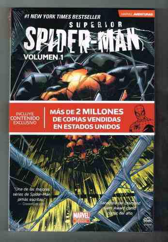 Supeior spiderman - vol 1 al 4 - marvel aventuras- televisa