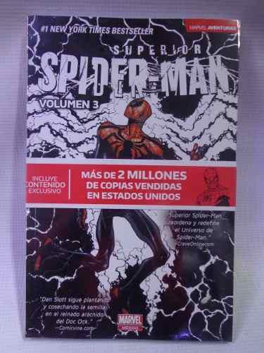 Superior spider-man vol.3 marvel aventuras