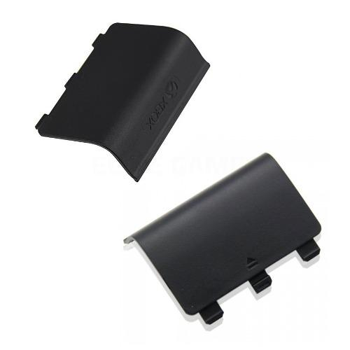 Tapa original baterias xbox one con logo negro control