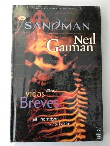 Vertigo comics deluxe · the sandman libro 7 · vidas breves