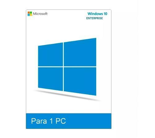 Windows 10 enterprise licencia original 1 pc