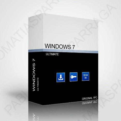 Windows 7 ultimate promocion original
