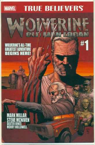 Wolverine old man logan marvel comics hulk