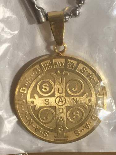 Acero inoxidable san judas tadeo medalla dije 3 modelos 2.8