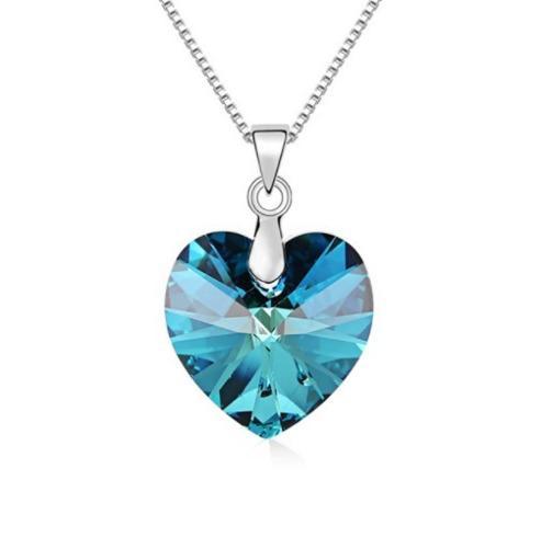 e9c681f0b77f Bellos cristales de corazon swarovski grandes varios colores
