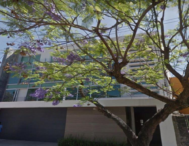 Edificio minimalista, cerca de plaza patria, semi-nueva piso