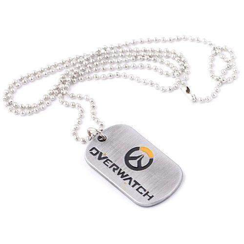 b35d6b4ab2cb Overwatch collar cadena acero inoxidable ps4