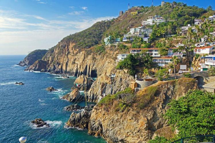 Terreno en venta en la quebrada, acapulco