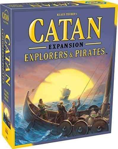 Catan: los exploradores y piratas de expansión