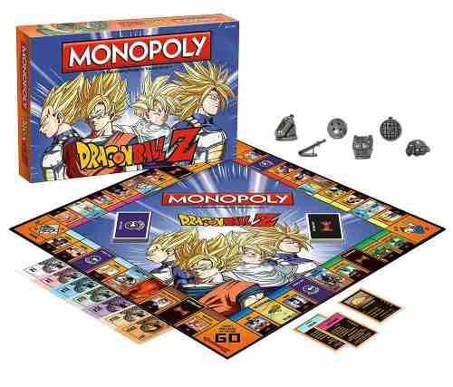 Monopoly edición especial dragon ball z colección hasbro