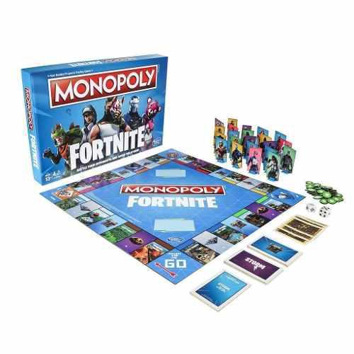 Monopoly edición especial fortnite videojuego colección