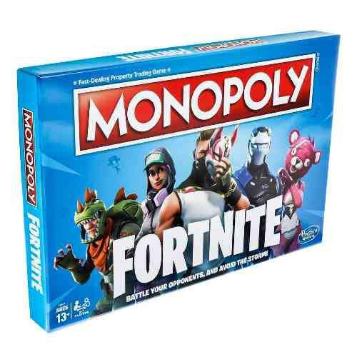 Monopoly edicion especial fortnite