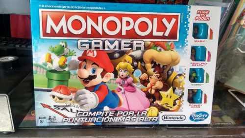 Monopoly gamer mario bross nintendo hasbro en español